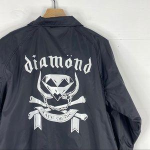 Diamond Supply Co. Logo Windbreaker Size S